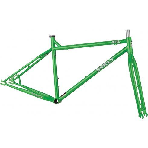 Surly 1x1 Single Speed Mountain Bike Frameset - Green Grass