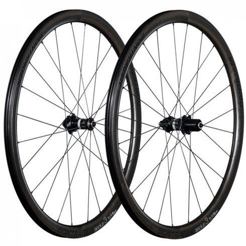 Bontrager Aeolus 3 Carbon TLR Disc D3 Clincher Wheel