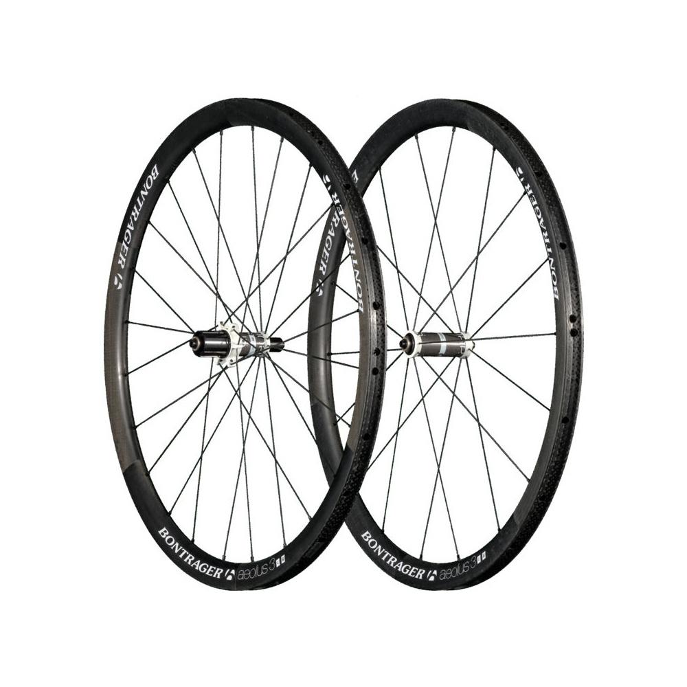 Bontrager Aeolus 3 D3 Tubular Wheel - Carbon/White ...