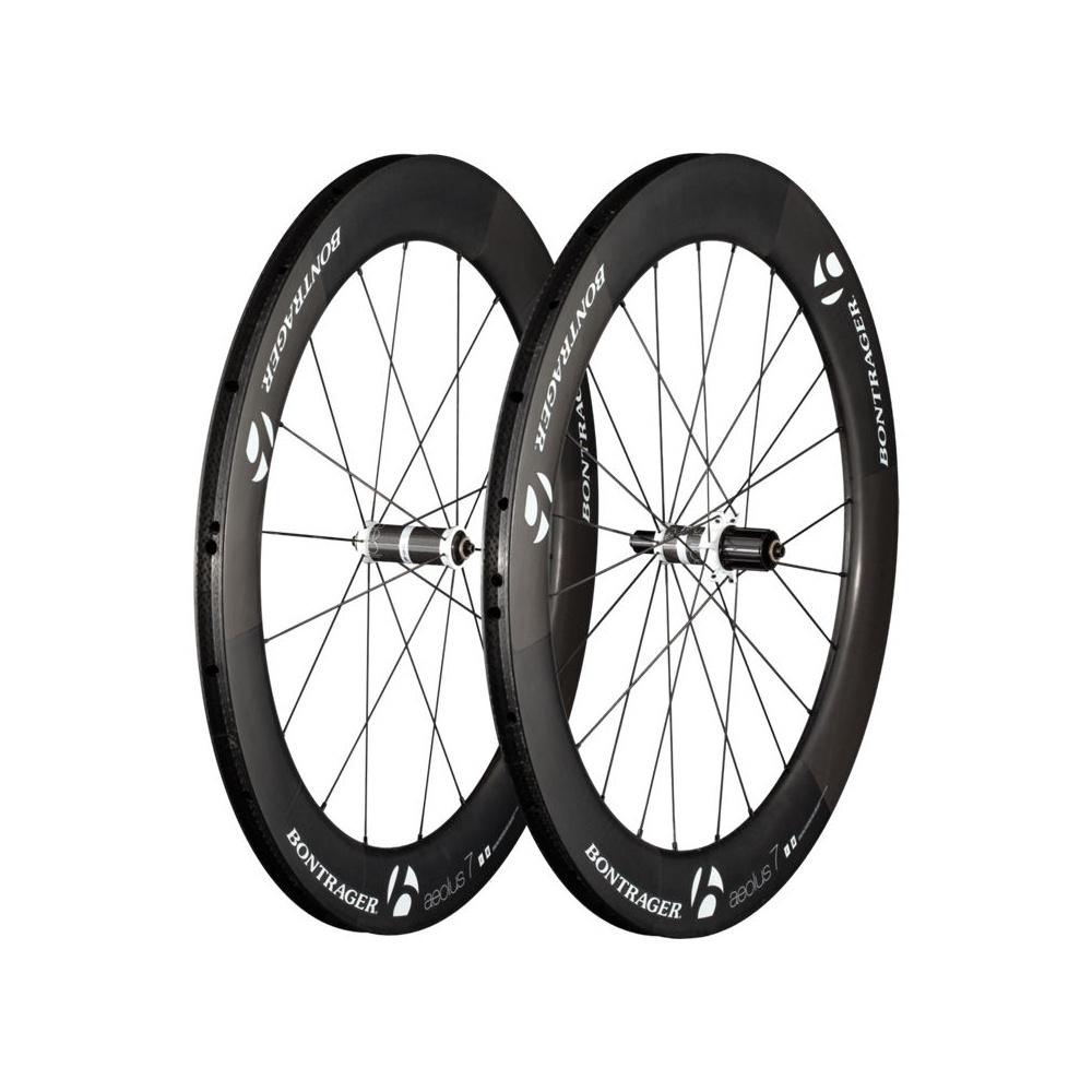 Bontrager Aeolus 7 D3 Tubular Wheels - Carbon/White ...