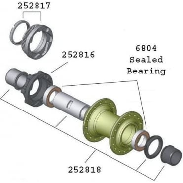 Bontrager Big Earl ATB Axle Set