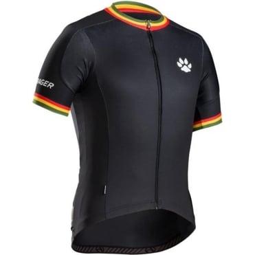 Bontrager Rasta Stripe Black RL Jersey