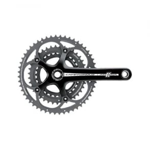 Campagnolo Athena 11x Triple Power-Torque Black Chainset 30-39-52T