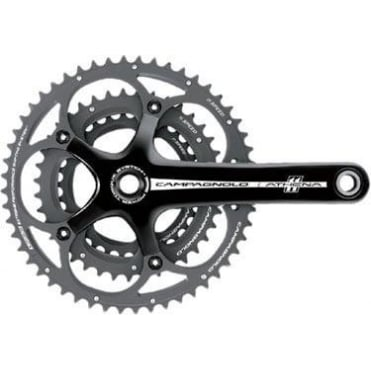 Athena 11x Triple Power-Torque Black Chainset 30-39-52T