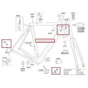 Cannondale DI2 Synapse Plug BB Cover Kit