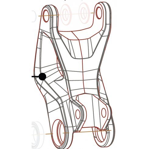 Cannondale Scalpel 29er Link Kit