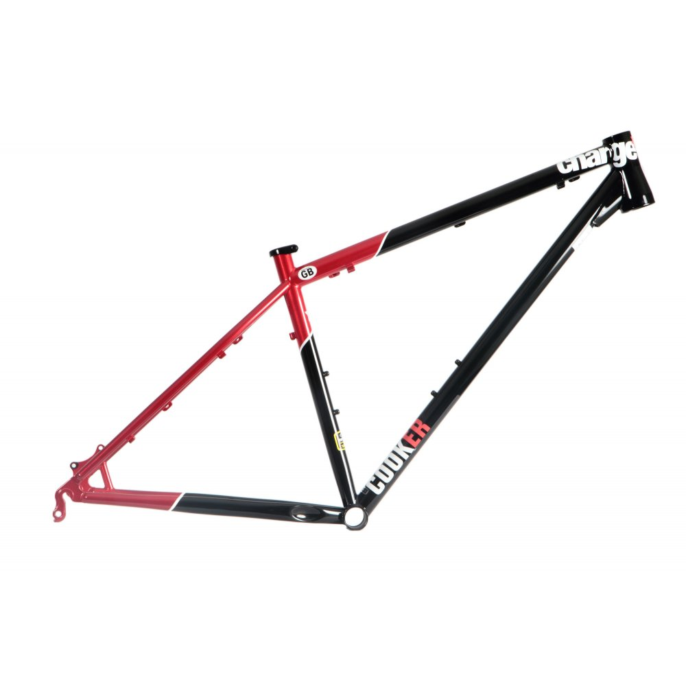 Charge Cooker Steel 29er Mountain Bike Frame with Tapered Headtube