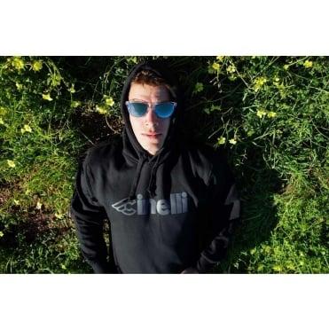 Cinelli Black Reflective Hoodie