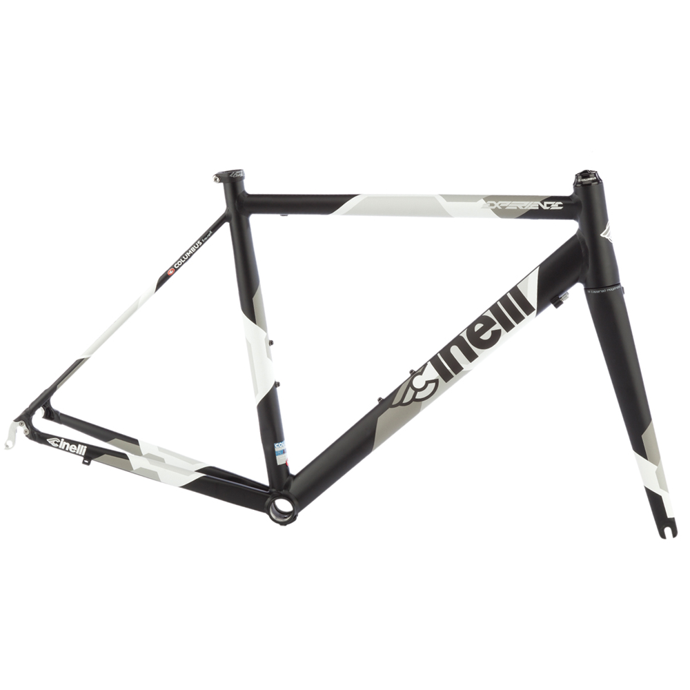 Cinelli Experience Black/White Frameset | Triton Cycles