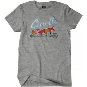 Cinelli Ladies Forest Friends T-Shirt