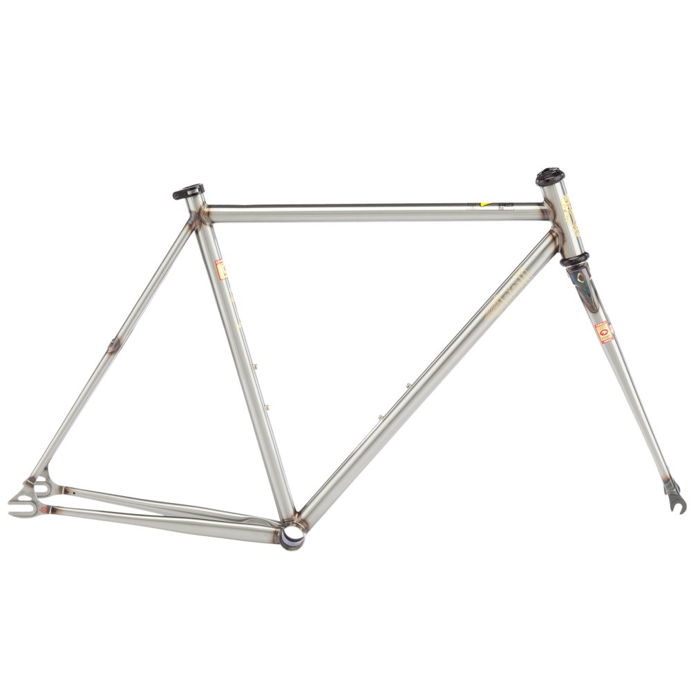 Steel Frame Work : Cinelli mash works steel frameset triton cycles