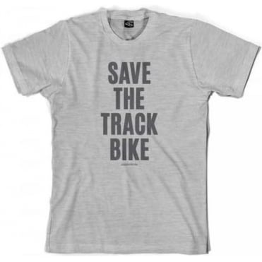 Save The Track Bike T-Shirt