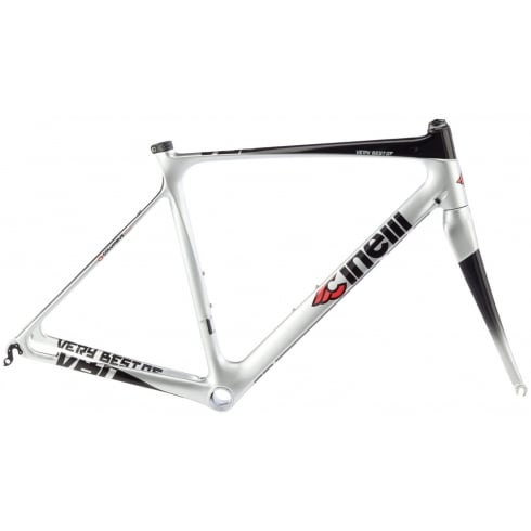 Cinelli Very Best Of Silver Frameset