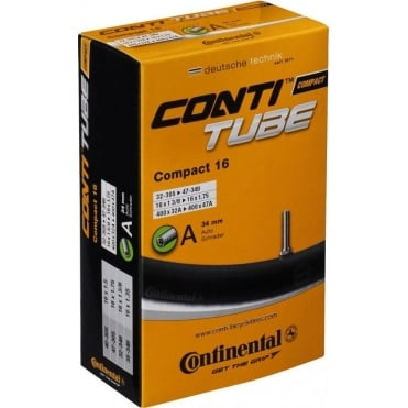 "Continental Compact Tube 14"" Woods Valve Inner Tube"