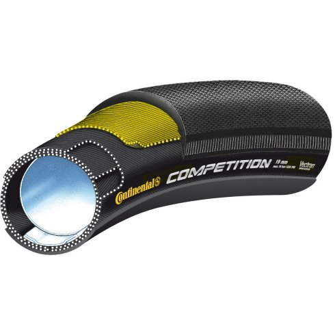 "Continental Competition Vectran 28"" Black Chili Tubular Tyre"