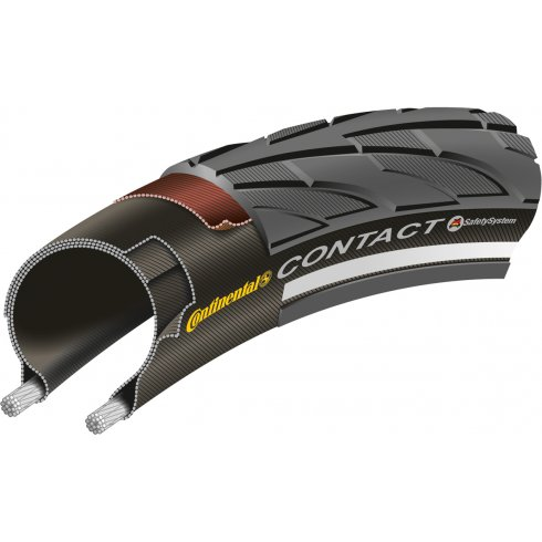 Continental Contact II Black Tyre