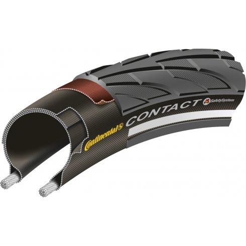 Continental Contact II Reflex Black Tyre