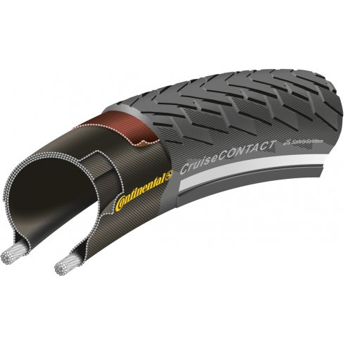 Continental Cruise Contact Reflex Black Tyre