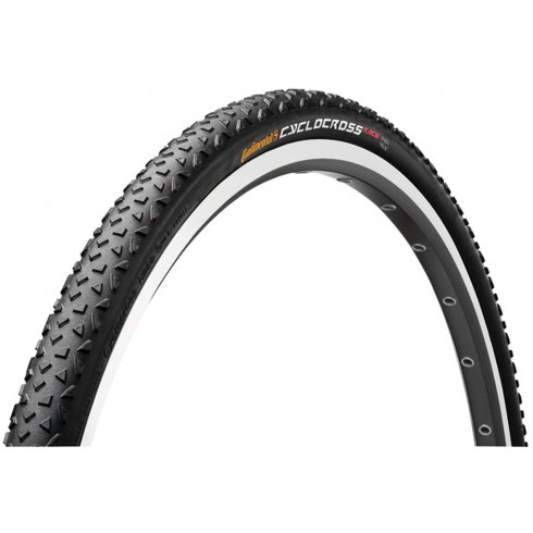 Continental CycloCross Race 700 x 35C Black Reflex Tyre