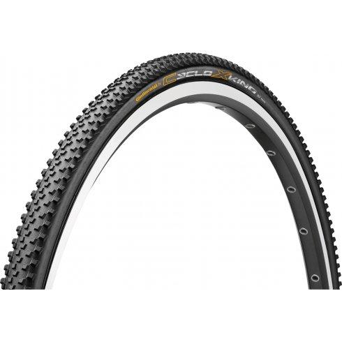 Continental CycloX-King 700 x 35C Black / Skin Tyre