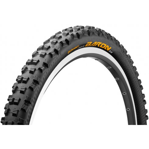 "Continental Der Baron 26 x 2.3"" Black Folding Tyre"
