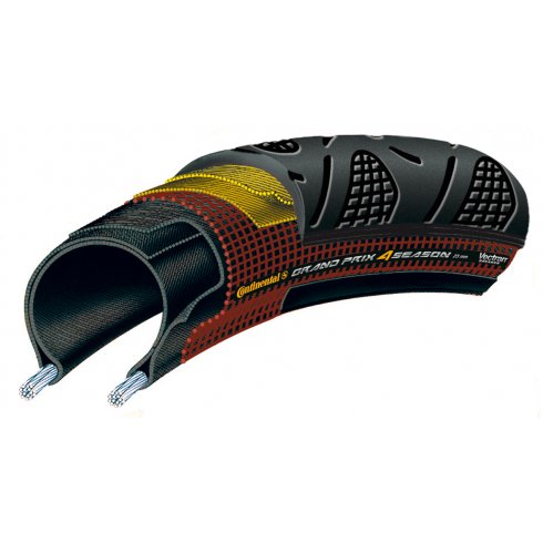 Continental Grand Prix 4 Season 700c DuraSkin - Vectran - Folding Tyre