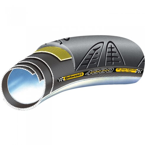 Continental Grand Prix 4000 S II Vectran Black Chili Tubular Tyre