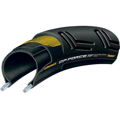 Continental Grand Prix Force II 700 x 24C Rear Black Chili - Vectran Tyre