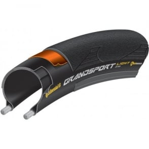 Continental Grand Sport Light 700 x 23C Foldable Tyre