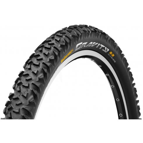 "Continental Gravity 26 x 2.3"" Black Tyre"