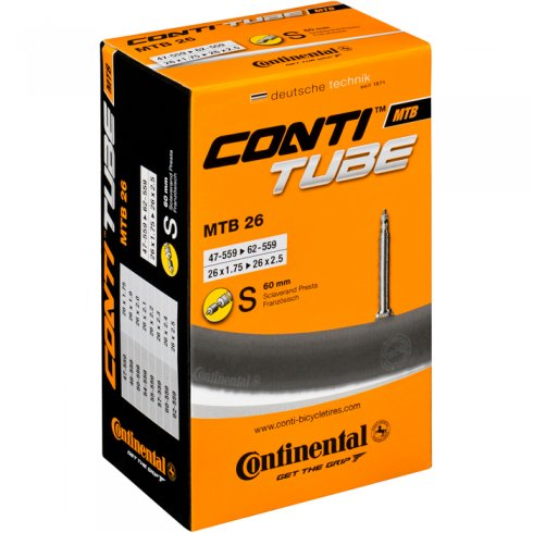 Continental MTB Freeride - 26 x 2.3 - 2.7 inch Presta Valve Inner Tube