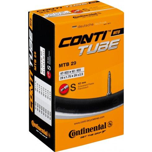 Continental MTB Tube 29 x 1.75 - 2.5inch Presta Valve (for 29er) Inner Tube