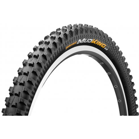 "Continental Mud King 26 x 2.3"" Black Chilli Apex Folding Tyre"