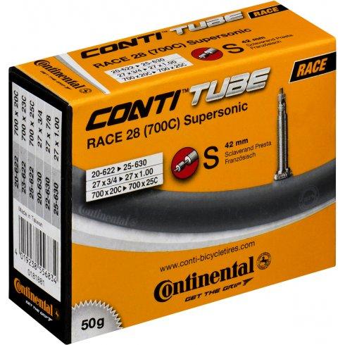 Continental R28 Supersonic 700 x 20 - 25C Presta Inner Tube