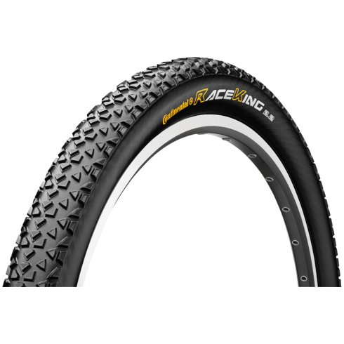 """Continental Race King ProTection 26 x 2.2"""" Black Chili Folding Tyre"""