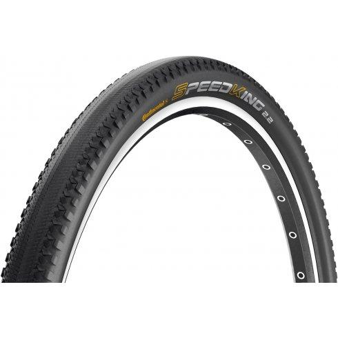 "Continental Speed King II RaceSport 26 x 2.2"" Black Chili Folding Tyre"