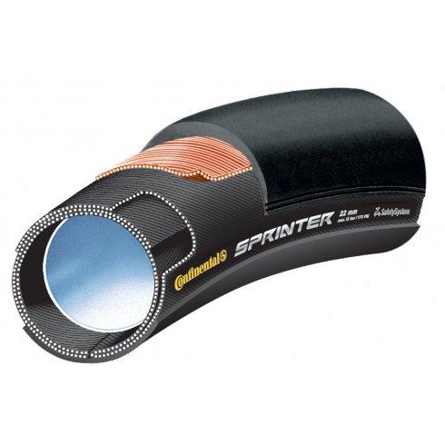 "Continental Sprinter 26"" x 22mm Black Chili Tubular Tyre"