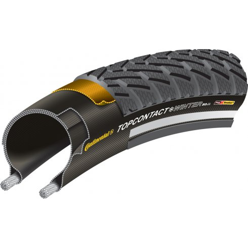 "Continental Top Contact Winter II Reflex 26"" Black Tyre"