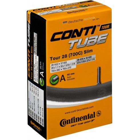 Continental Tour 28 Slim Tube 700 x 28 - 32C Presta Valve Inner Tube