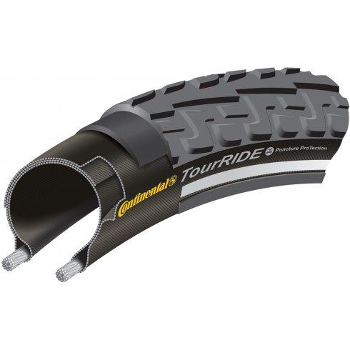 Continental Tour Ride 700c Black Tyre
