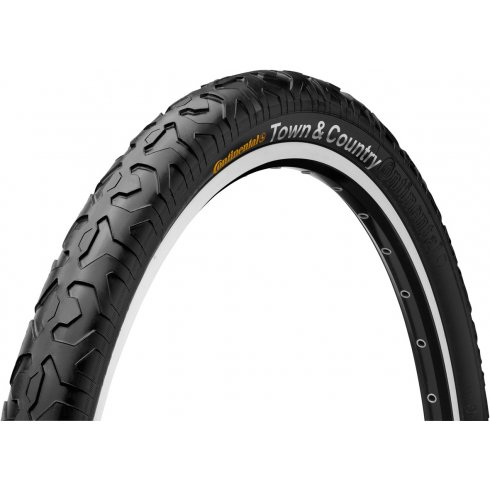 "Continental Town and Country 26"" Black Tyre"