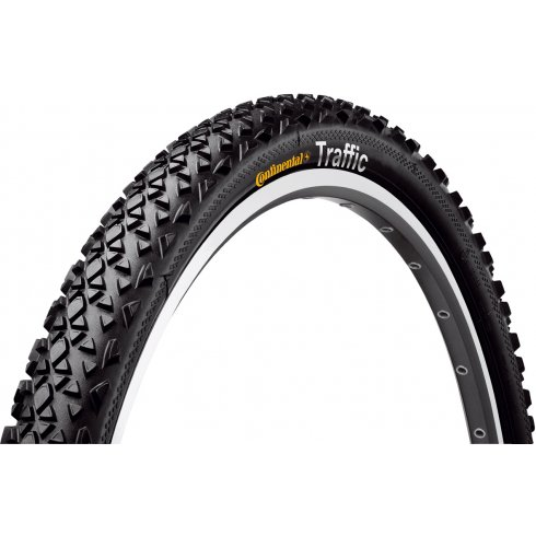 "Continental Traffic 26"" Black Reflex Tyre"