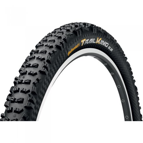 "Continental Trail King ProTection 26"" Black Chili Folding Tyre"