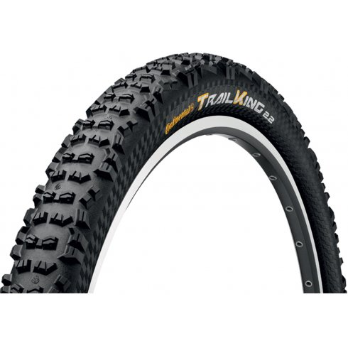"Continental Trail King UST 26 x 2.2"" Black Chili Folding Tyre"