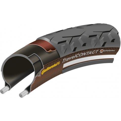 "Continental Travel Contact Reflex 28 x 2.0"" Black Tyre"