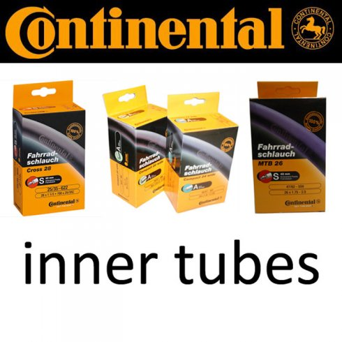 "Continental Wide 16"" (47/57mm) Woods Valve Inner Tube"