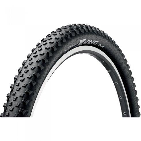 "Continental X-King 26"" PureGrip Black Folding Tyre"