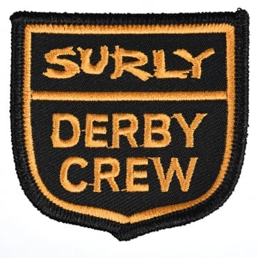 Derby Crew Iron-On Patch