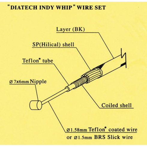 Dia Compe Indy Whip Brake Cable