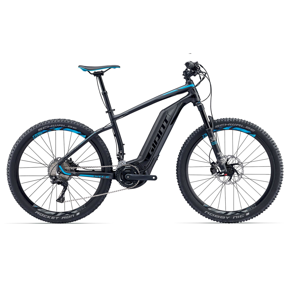 giant dirt e 0 electric mountain bike 2017 triton cycles. Black Bedroom Furniture Sets. Home Design Ideas
